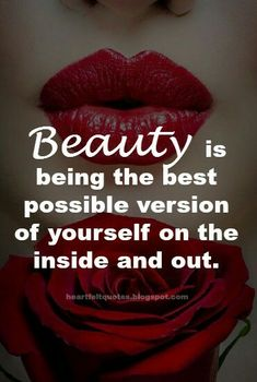 Beauty quote.
