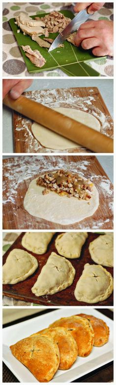 Thanksgiving Pockets - When Thanksgiving comes we all want to do something different and special for our loved ones and I have here the perfect thing for them! They are called Thanksgiving Pockets and they have a delicious stuffing. Thanksgiving Recipes, Fall Recipes, Holiday Recipes, Thanksgiving Leftovers, Christmas Recipes, Leftover Turkey Recipes, Leftovers Recipes, Recipes Dinner, Dinner Ideas