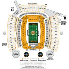 Heinz Field Seating Chart Steelers Vs Cowboys Patriots New England