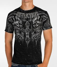 Affliction Fragmented Reversible T-Shirt