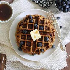 Clean Eating Breakfast Recipes: Sweet Potato Waffles - Fitnessmagazine.com