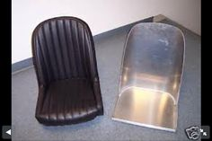 Old school car chair Banquettes, Bomber Seats, Car Chair, Mg Midget, 427 Cobra, Triumph Spitfire, Old School Cars, Metal Shop, Karting