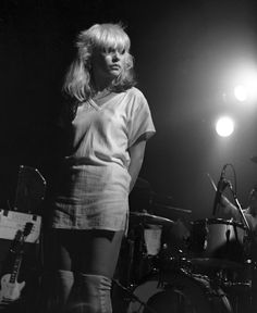 Blondie at the Roundhouse on 5 March, 1977, their first major headlining UK tour