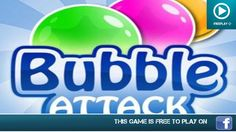 Bubble Attack - Play On  Facebook - Gameplay Trailer
