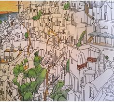 Fantastic Cities Coloring BooksColouringCities