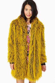 Colorful fur coats: Bitching & Junkfood