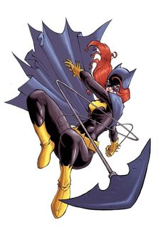 "Batgirl (Barbara Gordon) is a fictional character, a super-heroine in the DC Comics universe. Created by Gardner Fox and Carmine Infantino, at the request of the producers of the 1960s Batman television series. She debuted in Detective Comics #359 titled, ""The Million Dollar Debut of Batgirl!"" in 1967. She went on to be identified as the iconic Batgirl. Daughter of Gotham City police commissioner James Gordon. known as one of Batman's sidekick's and member of the Bat Family. Barbara was…"