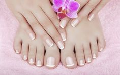 Another great mommy time idea.  Mani-care at home service.