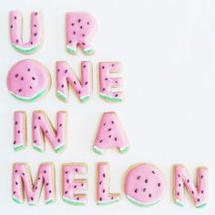 U R One in a Melon via Vickie Liu
