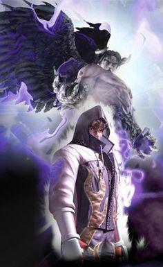 True power of Jin Kazama by DARKAZUYOSHI.deviantart.com on @DeviantArt