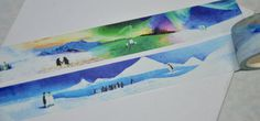 1 Roll of Limited Edition Washi Tape: Antarctic by CollectingLife