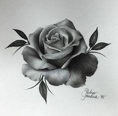 dessins de tatouage 2019 Incredible Realism Rose Art by - Tattoo Designs Photo Tattoo Drawings, Body Art Tattoos, New Tattoos, Sleeve Tattoos, Tattoo Art, Pink Tattoos, Rose Drawing Tattoo, Rose Drawings, Tatoos