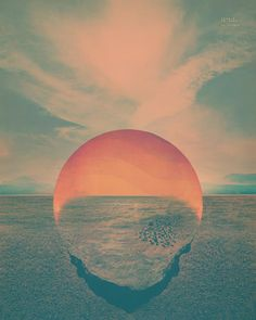 Dive Lithograph / New Tycho Album Artwork by Scott Hansen aka @ISO50
