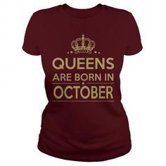 QUEENS ARE BORN IN OCTOBER #October