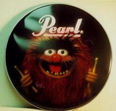 custom drums & percussion | Custom Drum heads...very cool!