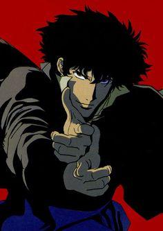 Old Anime & Cyberpunk Manga Anime, Old Anime, Anime Art, Cowboy Bebop Tattoo, Cowboy Bebop Anime, Girls Anime, Anime Guys, Blue Exorcist, Cyberpunk