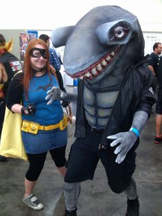 Misfit and King Shark