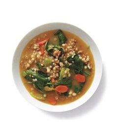 Turkey-Barley Vegetable Soup