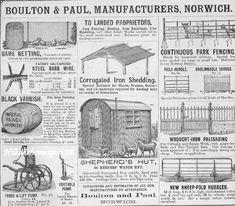 Boulton & Paul Catalogue of kit buildings for agriculture