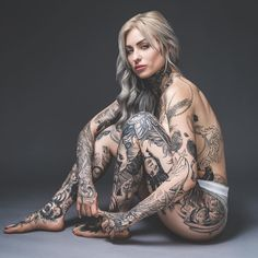 "Ryan Ashley Malarkey ( ""My favorite shot from this month's ❤️ thank you as always"" Tattoed Women, Tattoed Girls, Inked Girls, Ryan Ashley Malarkey, Hot Tattoos, Body Art Tattoos, Girl Tattoos, Hot Tattoo Girls, Sexy Tattoos For Girls"