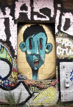 ღღ Characters By Muro - Berlin (Germany) - Street-art and Graffiti | FatCap