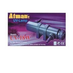 Lampy UV-C na świetlówkę kompaktową o trzonku G23 lub 2G11 o mocy 9W, 11W, 18W i 36W.  Przeznaczone są do oczyszczania wody w akwariach / oczkach wodnych - do zbiorników od 7.000 do 35.000 litrów.  W komplecie promiennik oraz końcówki do podłączenia przewodów doprowadzających i wyprowadzających wodę. Promienniki również dostępne oddzielnie na AQUA-LIGHT.pl
