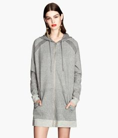 H&M Long hooded jacket £34.99