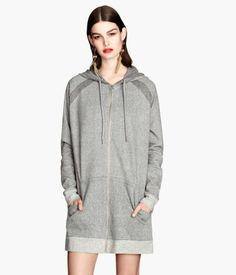 H&M Long hooded jacket £34.99