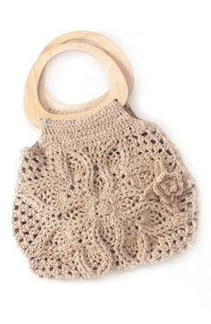 crochet purse by terri