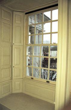 CWM Woodwindows - True Divided Light & Antique Restoration Glass: The beauty of a true divided light casement & double hung wood window with antique glass