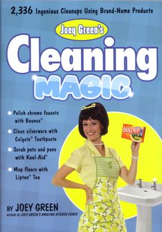 """Read """"Joey Green's Cleaning Magic Ingenious Cleanups Using Brand-Name Products"""" by Joey Green available from Rakuten Kobo. From the guru of discovering extraordinary uses for brand-name products come brand-new ways to make cleaning, organizing. Window Cleaning Tips, Cleaning Hacks, Cleaning Products, How To Clean Silverware, Dawn Dishwashing Liquid, Colgate Toothpaste, Best Kindle, Hobby House, Household Chores"""