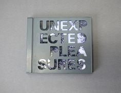 Unexpected Pleasures DVD by Lauren Walker, via Behance