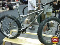 Holy Shit Balls, A titanium soft tail lefty fat bike!!!