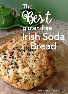 The best recipe I have found for gluten free Irish Soda Bread...YUM!