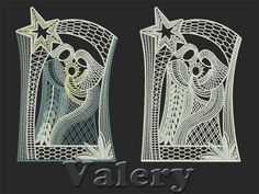 beautiful free standing lace design. Machine embroidery design