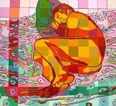 Gay Art, Art Studies, Lovers Art, Artwork, Cool Art, Images, Illustration Art, Painting, Fine Art