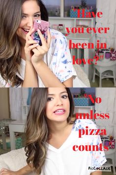 Lol! Love her!!! I actually don't like pizza that much.....