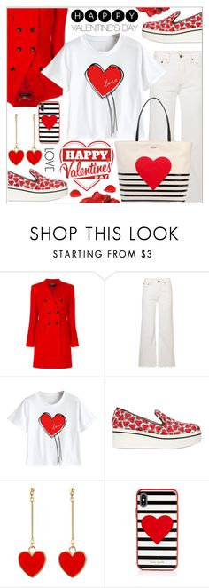 """VALENTINE'S DAY"" by celine-diaz-1 ❤ liked on Polyvore featuring MARC CAIN, Simon Miller, STELLA McCARTNEY and Kate Spade"