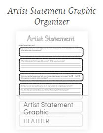 Mixed Media Artist Statement  Teacher Resources Portfolio