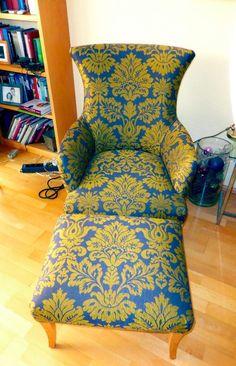 Ohrensessel mit Hocker, wie neu in Nordrhein-Westfalen - Willich | Sessel Möbel - gebraucht oder neu kaufen. Kostenlos verkaufen | eBay Kleinanzeigen