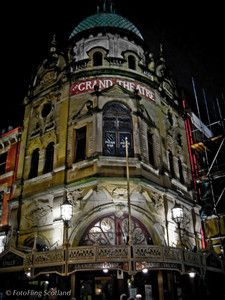 Grand Theatre, Blackpool The Grand was designed by Victorian theatre architect Frank Matcham and was opened in 1894 after a construction per...