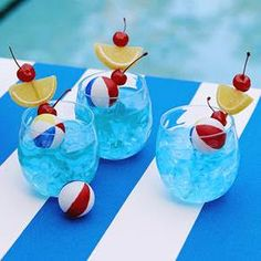 [recipe] Pool Party Punch cocktail