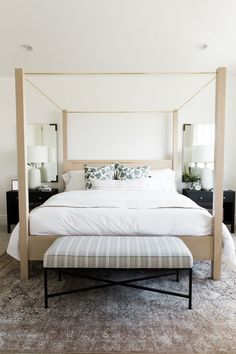 Shop BALLARD MIRROR, BONE & HORN FRAME, INDIGO PRINTED CATCHALL, MILO DOUBLE NIGHTSTAND, ANNE, REEM, CULLODEN TABLE LAMP, TWIN BELL ALARM CLOCK IN BURNISHED SILVER, SANFORD OTTOMAN, POMPEII and more