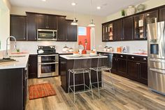 The Quentin F Kitchen, Drees Homes, Cincinnati and Northern Kentucky