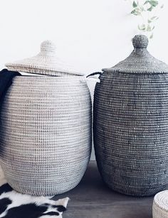 Need a solution for clutter? Laundry Baskets, Laundry Storage, Laundry Room, Konmari, Declutter, Modern Farmhouse, Home Accessories, House Design, Suitcases
