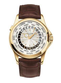 Patek Philippe montre 5130J-001 Heure Universelle http://www.vogue.fr/vogue-hommes/montres/diaporama/montres-double-fuseaux-heures-universelles-globe-trotter-anti-jet-lag/20061/image/1043868#!patek-philippe-montre-5130j-001-heure-universelle
