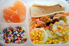 easy lunches for school