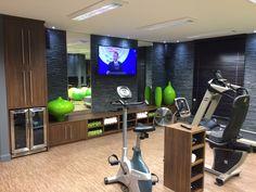 Modification d une chambre en gym
