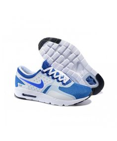 wholesale dealer 5f961 74e01 Nike Air Max Zero Qs Running Shoes White Blue UK Nike Air Max Mens, Cheap