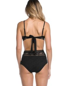 db55a94cab3 Becca Captured Crochet Bikini Swim Top, from Soma Remove Public Hair, Kinds  Of Clothes